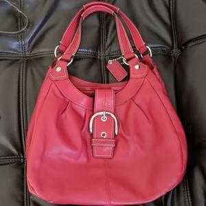 Genuine coach large Soho handbag purse perfect